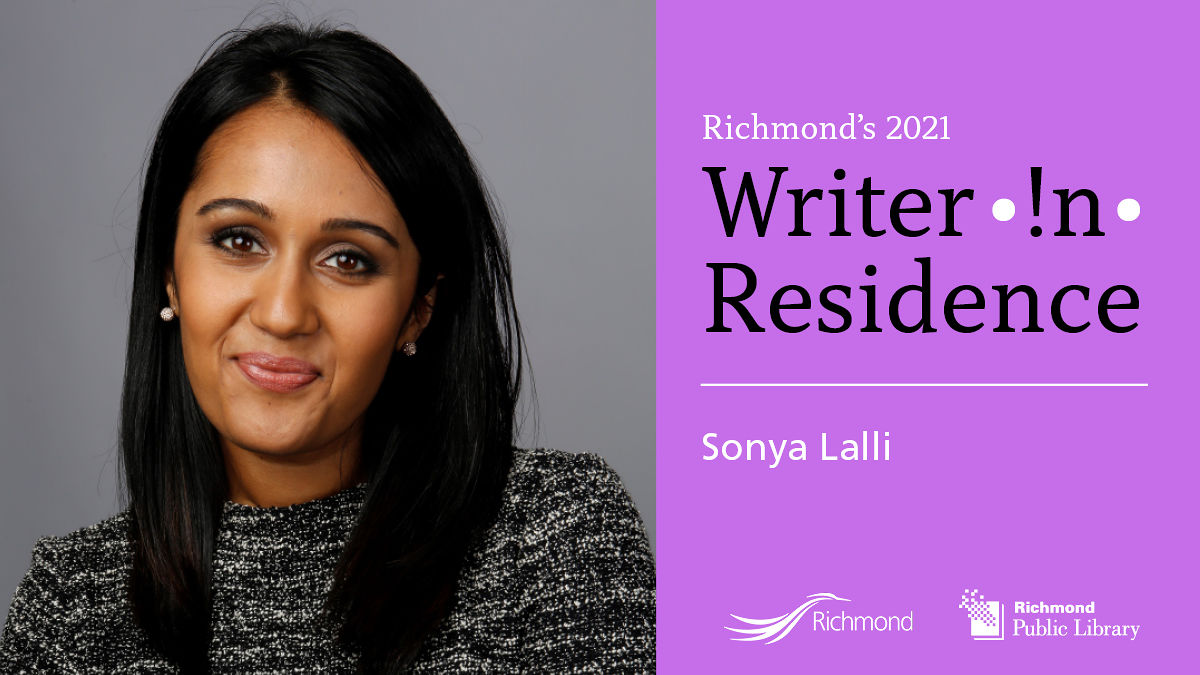 Meet and Greet with Sonya Lalli (Writer in Residence)