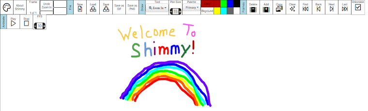 Digital Animation with Shimmy