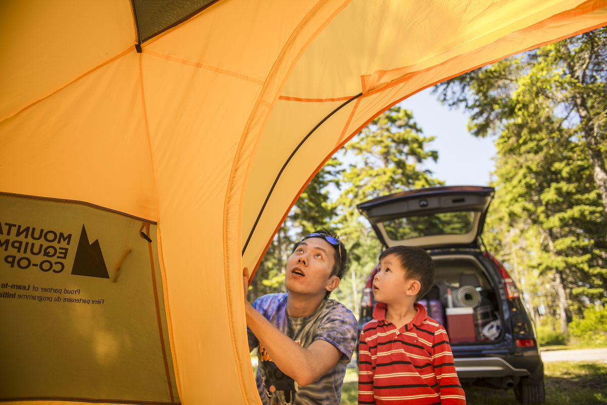Parks Canada: Hey Ho Away We Go - How to Pack for Your Next Car Camping Trip